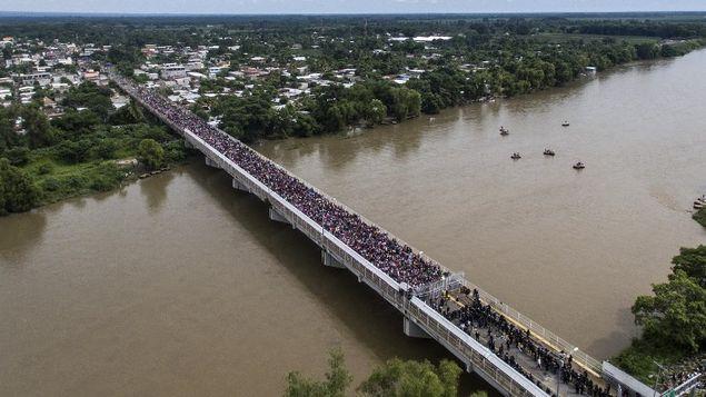 México no permitirá ingreso de migrantes de manera irregular y menos de manera violenta,Peña Nieto