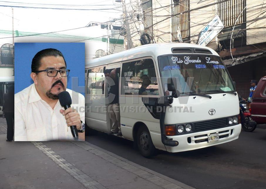 "Eventual aumento al transporte a partir de diciembre ""no es nuevo"" : @IHTT_HN"