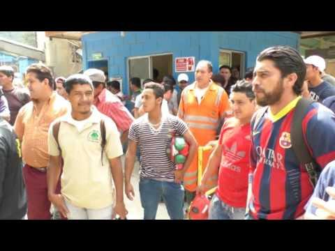 """Trabajadores mantienen toma en mina """"El Mochito"""" #SantaBárbara"""
