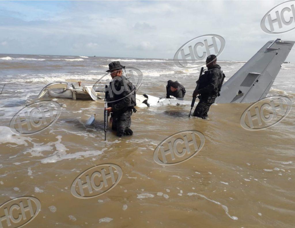 Cae supuesta narcoavioneta en el sector de La Mosquitia